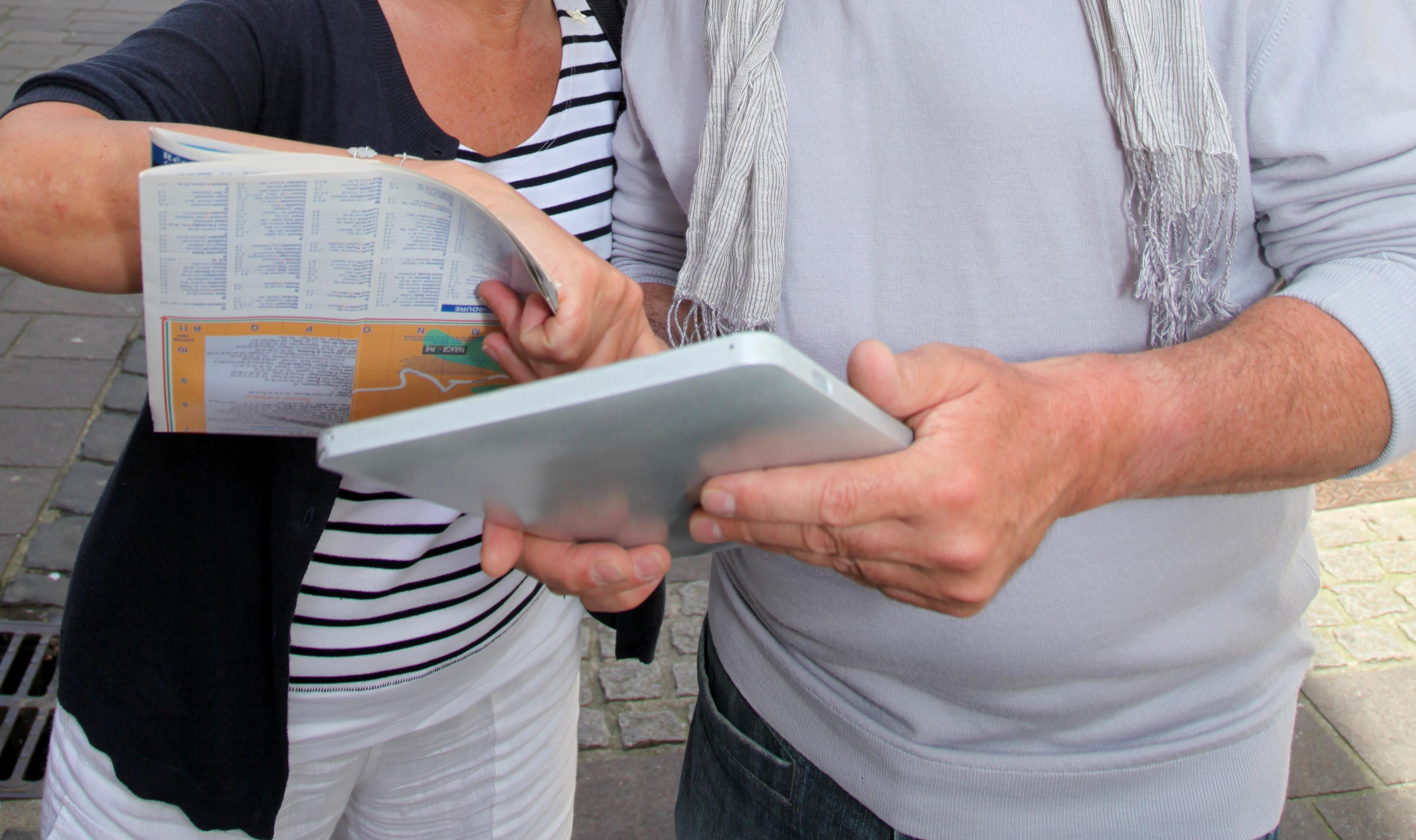 Tablet-Rallye in Kiel
