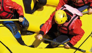 Team Rafting in Kiel
